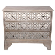 Privilege 3 Drawer Accent Chest