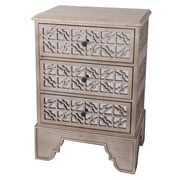 Privilege 3 Drawer Accent Stand