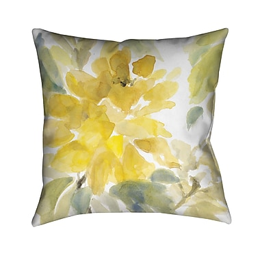 LauralHome Early May Blooms Throw Pillow