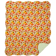 Great Finds Daisy Cotton Throw Blanket