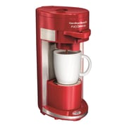 Hamilton Beach Flex Brew Single Serve K-Cup Coffee Maker; Red