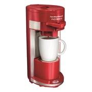 Hamilton Beach Flex Brew Single Serve K-Cup Coffee Maker; Red