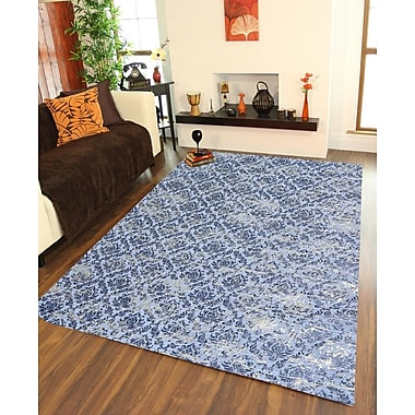 Ess Ess Exports Hand-Woven Grey Area Rug
