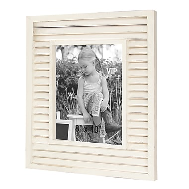 American Mercantile Emily Shutter Picture Frame; 10'' x 8''