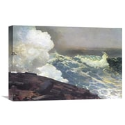 Global Gallery 'Northeaster' by Winslow Homer Painting Print on Wrapped Canvas
