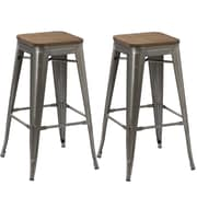 FamisCorp 30'' Bar Stool (Set of 2)
