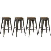 FamisCorp 30'' Bar Stool (Set of 4)