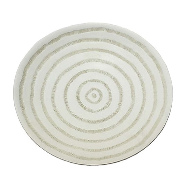 Donny Osmond Turned Look Resin Plate; 2.75'' H x 13.25'' W x 13.25'' D