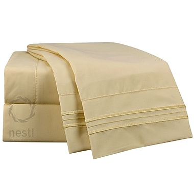 Nestl Bedding Goldfinch Microfiber Sheet Set; King