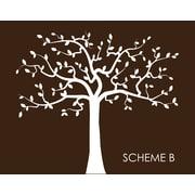 Wall Decal Source Family Tree Nursery Wall Decal; Scheme B