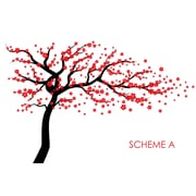 Wall Decal Source Cherry Blossom Tree Wall Decal; Scheme A