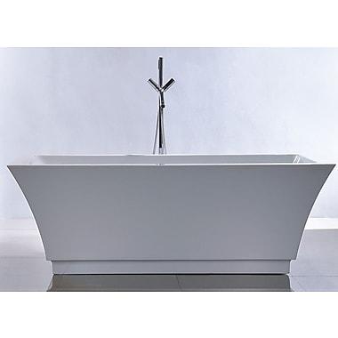 Kardiel HelixBath Pergamon 67'' x 31.5'' Soaking Bathtub