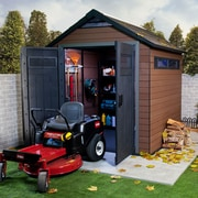 Keter Fusion 8 ft. W x 7 ft. D Composite Storage Shed
