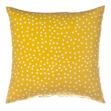 Sweet Potato by Glenna Jean Traffic Jam Dot Throw Pillow