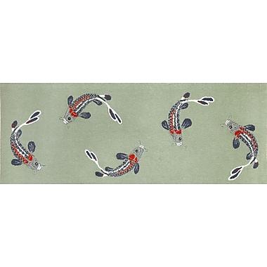 Liora Manne Frontporch Koi Fish Area Rug; Runner 2'3'' x 6'