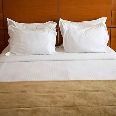 Le Vele Stripes Hotel Line 6 Piece Queen Duvet Cover Set