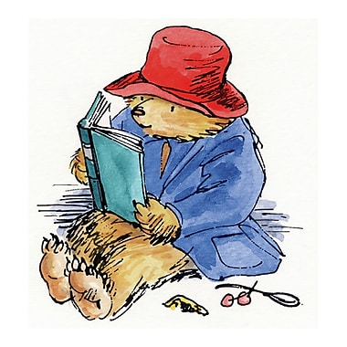 Marmont HIll 'Reading Is Fun' by Paddington Bear Painting Print on Wrapped Canvas