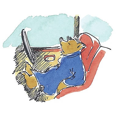 Marmont HIll 'Sleepy Driver' by Paddington Bear Painting Print on Wrapped Canvas