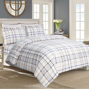 Tribeca Living Flannel Sheet Set; Extra-Long Twin
