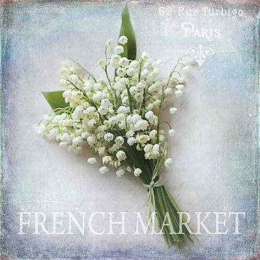 Marmont Hill 'French Market' by Sylvia Cook Painting Print on Wrapped Canvas; 24 H x 24 W x 1.5 D