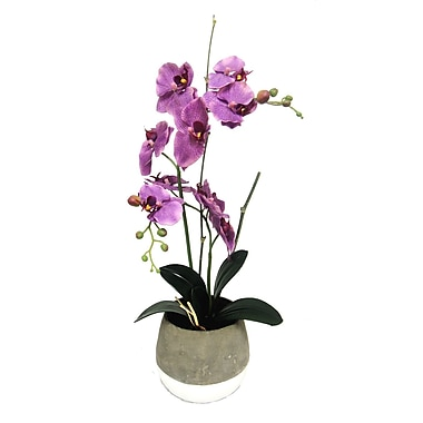 Creative Branch Faux Orchids Type Container