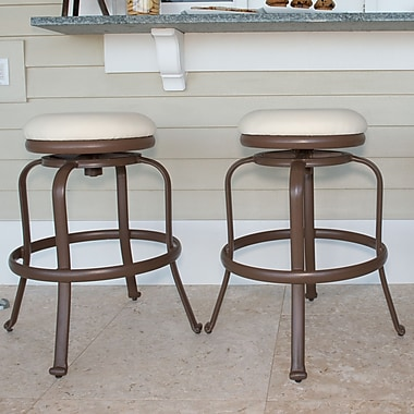 Panama Jack Tiki 27'' Barstool (Set of 2)