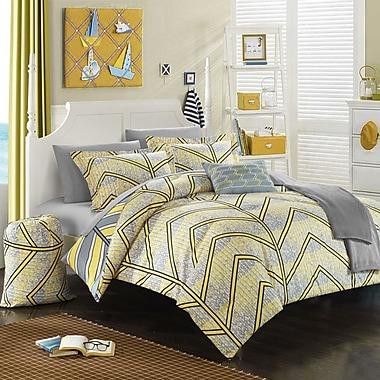 Chic Home Laredo 8 Piece Twin XL Comforter Set; Yellow