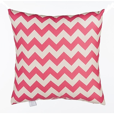 Sweet Potato by Glenna Jean Pippin Chevron Cotton Throw Pillow