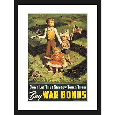 Marmont Hill Don't Let That Shadow Touch Them Framed Painting Print; 18'' H x 12'' W x 1.5'' D