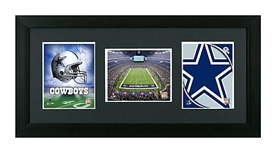 Pictures and Mirrors Dallas Cowboys Showcase Framed Wall Art