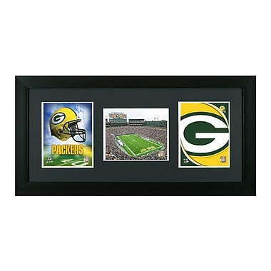 Pictures and Mirrors Green Bay Packers Showcase Framed Wall Art