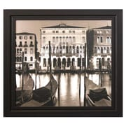 Pictures and Mirrors 'Venice Grand Canal Sepia Tone' by Alan Blaustein Framed Photographic Print