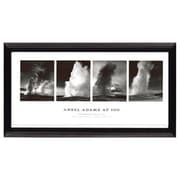 Pictures and Mirrors 'Old Faithful Series' by Ansel Adams Framed Photographic Print