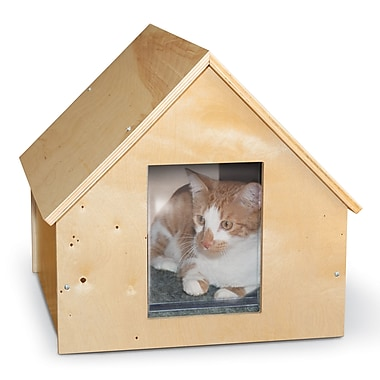 K&H Manufacturing Manor Birchwood Thermo Kitty House (Unheated)