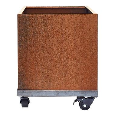 Nice Planter Corten Steel Planter Box; 20'' H x 17'' W x 17'' D