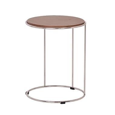 Oak Idea Ocean End Table
