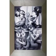 Pictures and Mirrors Classic Disney Framed Graphic Art