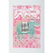 Pictures and Mirrors Pink Bazaar 2 Framed Painting Print