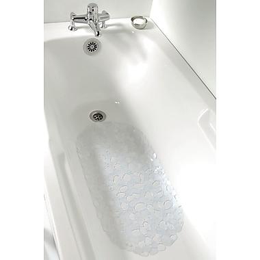 Evideco Non Skid Bath Mat; Clear
