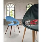 Bellini Modern Living Shape Arm Chair; Gray
