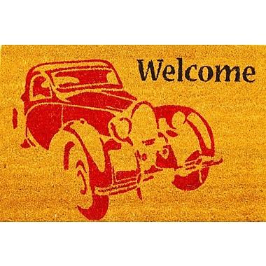 Envelor Home Vintage Car Welcome Doormat