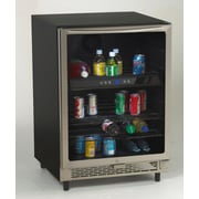 Avanti 5.1 cu. ft. Undercounter Beverage Center w/ Glass Door