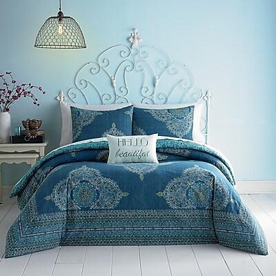 Jessica Simpson Home Aylin Comforter Set; Full/Queen