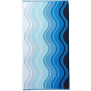 Arus Waves Terry Turkish Cotton Beach Towel
