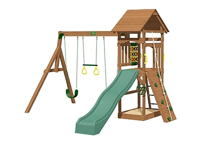 Creative Playthings Riviera Wooden Swing Set