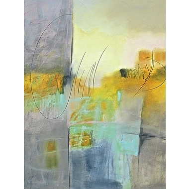 Printfinders 'Echo I' by Pam Hassler Painting Print on Canvas; 24'' H x 18'' W x 1.5'' D