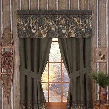 Browning Whitetails Lined Curtain Panels (Set of 2)