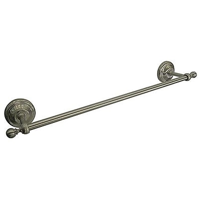 LaToscana England Wall Mounted Towel Bar; Tuscan Bronze
