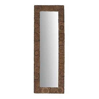 Jeffan Buzz Large Rectanglular Abaca Mirror