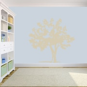 SweetumsWallDecals Storybook Tree Wall Decal; Beige